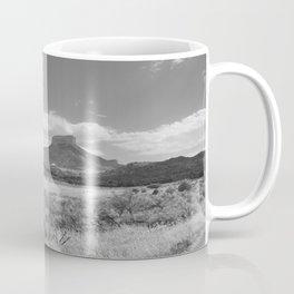 The Rock Black/White Coffee Mug