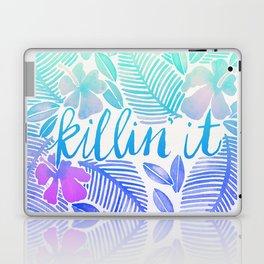 Killin' It – Turquoise + Lavender Ombré Laptop & iPad Skin
