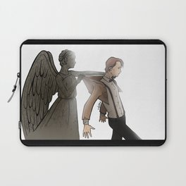 [ Doctor Who ] Eleven Matt Smith Weeping Angel Laptop Sleeve