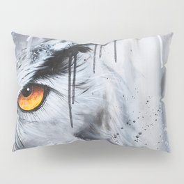 owl eye night vision Pillow Sham