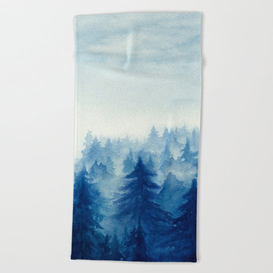 Into The Forest II Beach Towel