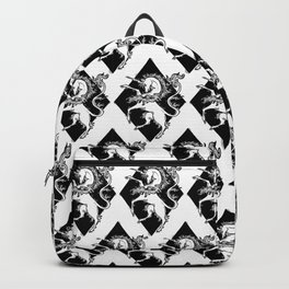 unicorn coat of arms Backpack