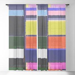 No 1 Sheer Curtain