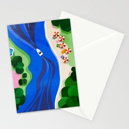 Cruising on a summer day Stationery Cards