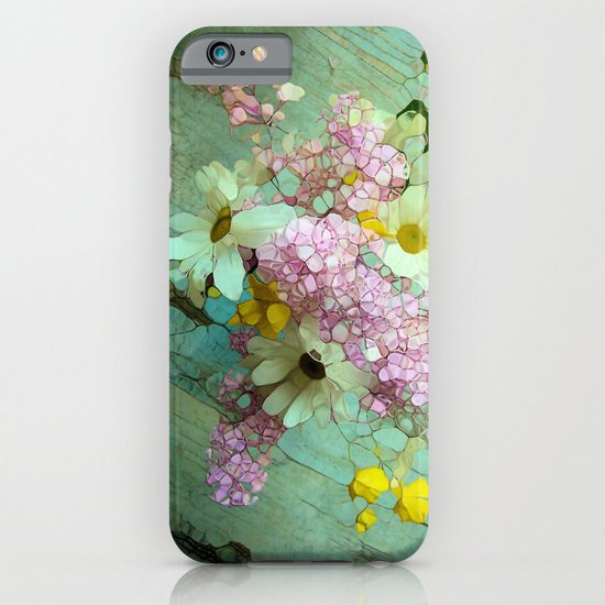 country flowers iPhone & iPod Case