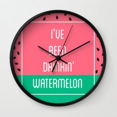 Beyonce Said It Best Wall Clock