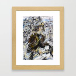 Nowhere man Framed Art Print