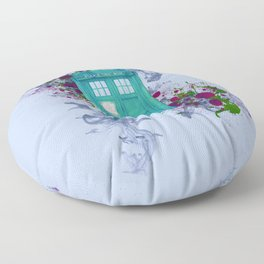Doctor Who Floor Pillow