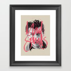 Mad Sounds Framed Art Print
