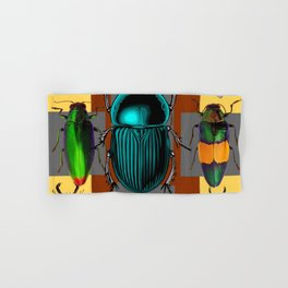 BUGGY INSECT LOVERS ART Hand & Bath Towel
