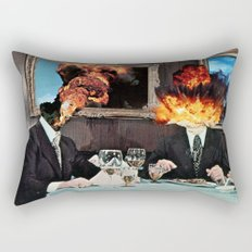 Every Act of Creation is First an Act of Destruction Rectangular Pillow