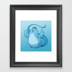 Team Birb [Mystic] Framed Art Print