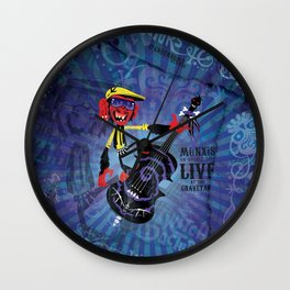 Münxis - Bass. The Twitch Doctors. Wall Clock