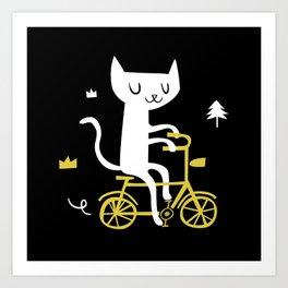 Get a bike Art Print