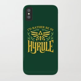 I'd Rather be Adventuring iPhone Case