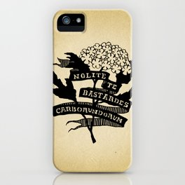 Handmaid's Tale - NOLITE TE BASTARDES CARBORUNDORUM iPhone Case