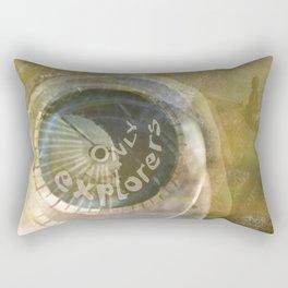 TMT / The Biggest Spatial Eye / EXPLORERS ONLY Rectangular Pillow