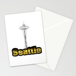 Seattle - Space Needle Stationery Cards