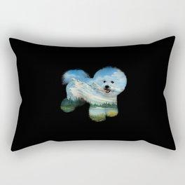 Dog Ross Rectangular Pillow