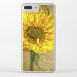 Sunny Days Clear iPhone Case