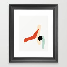 Matisse Shapes 6 Framed Art Print