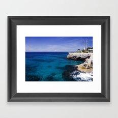 Caribbean Ocean Framed Art Print