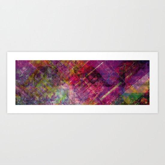 Abstract landscape I Art Print