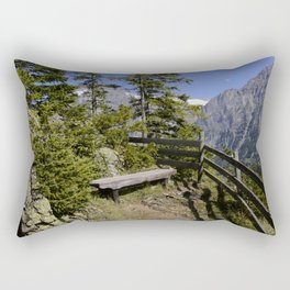 Aellfluh Grindelwald Switzerland Rectangular Pillow