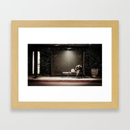 Left Behind Framed Art Print