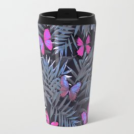 Butterflies Night Dance Travel Mug
