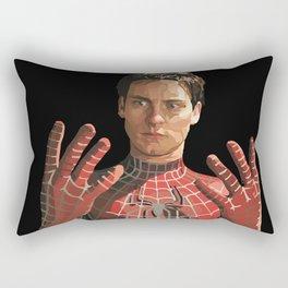 toby maguire Rectangular Pillow