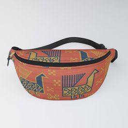 Susa in Red Fanny Pack