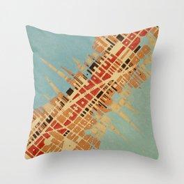 Cypher number 7 (ORIGINAL SOLD). Throw Pillow