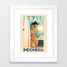 Indonesia - Bali Framed Art Print