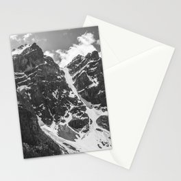 Mountains Black and White Photography Landscape Stationery Cards