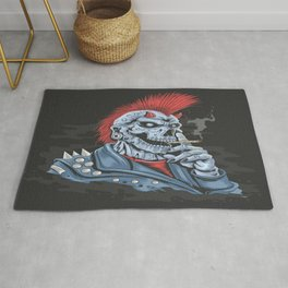 Punk Rock Is Alive Rug