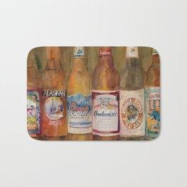 Fat Tire, Alaskan, Coors Light, Budweiser, Mirror Pond, IPA Bath Mat
