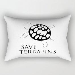 Save Terrapins Rectangular Pillow