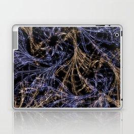 Blue Magical Wisps Laptop & iPad Skin