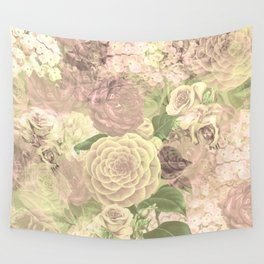 English rose Wall Tapestry