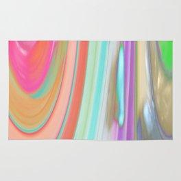 476 - Abstract Colour Design Rug