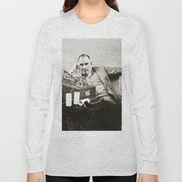 Steve Jobs As Edison Long Sleeve T-shirt