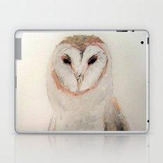 Owl in the fog Laptop & iPad Skin