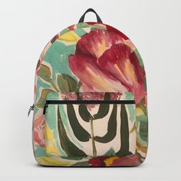 Mixed Floral Backpack