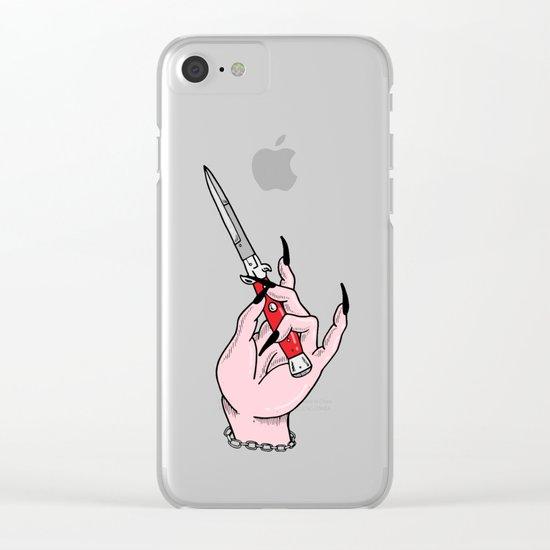 Stick Em! Clear iPhone Case