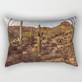 Saguaro Garden Rectangular Pillow