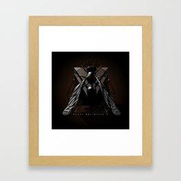 Wasp up?! Framed Art Print