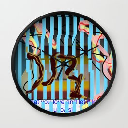 composition #2 Wall Clock