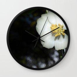 May Apple Wall Clock