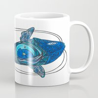 tatoo Mugs featuring Tatoo Koi Fish by PepperDsArt